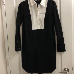 Ann Taylor long sleeve shirt dress